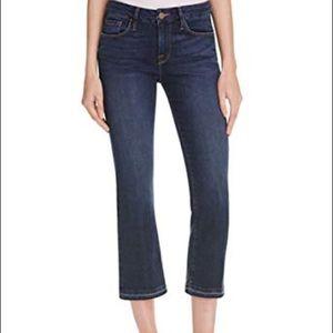 Frame denim Le Crop Mini Boot-Cut Jeans size 28